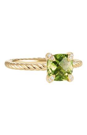 Женские кольцо DAVID YURMAN бесцветного цвета, арт. R12598D88APRDI | Фото 1