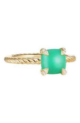 Женские кольцо DAVID YURMAN бесцветного цвета, арт. R12598D88DCHDI | Фото 1