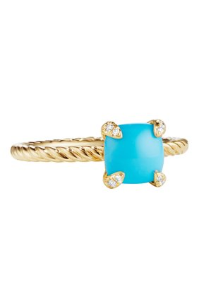 Женские кольцо DAVID YURMAN бесцветного цвета, арт. R12598D88DTQDI | Фото 1
