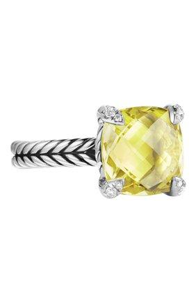 Женские кольцо DAVID YURMAN бесцветного цвета, арт. R12643DSSALCDI | Фото 1