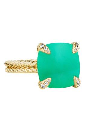 Женские кольцо DAVID YURMAN бесцветного цвета, арт. R12742D88DCHDI | Фото 1