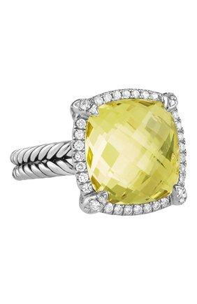 Женские кольцо DAVID YURMAN бесцветного цвета, арт. R12746DSSALCDI | Фото 1