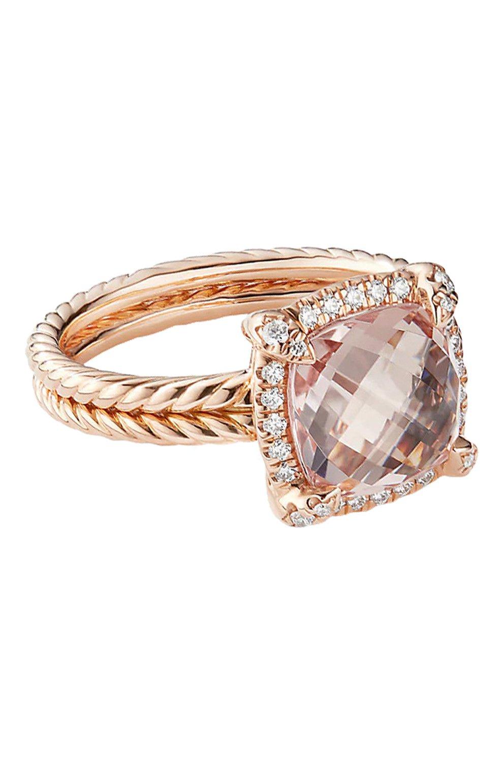 Женские кольцо DAVID YURMAN бесцветного цвета, арт. R12747D8RAMODI   Фото 1
