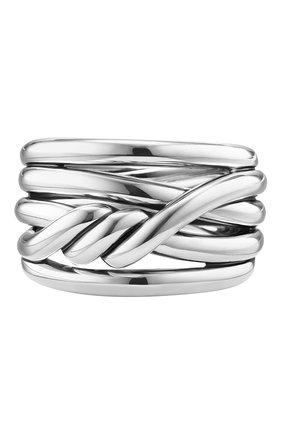 Женские кольцо DAVID YURMAN бесцветного цвета, арт. R13312 SS | Фото 1