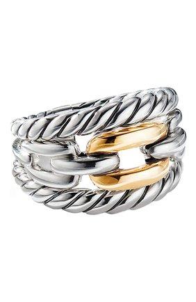 Женские кольцо DAVID YURMAN бесцветного цвета, арт. R13680 S8 | Фото 1