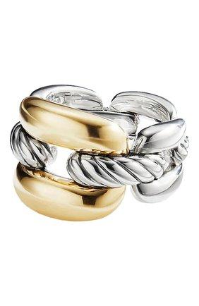 Женские кольцо DAVID YURMAN бесцветного цвета, арт. R14251 S8 | Фото 1