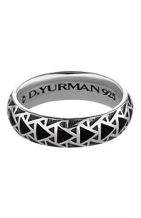 Мужское кольцо DAVID YURMAN серебряного цвета, арт. R15447MSSBNV | Фото 1