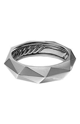 Мужское кольцо DAVID YURMAN платинового цвета, арт. R25210MPL | Фото 1