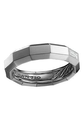 Мужское кольцо DAVID YURMAN белого золота цвета, арт. R25318M8WADI | Фото 1