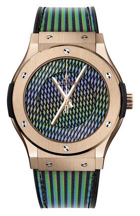 Мужские часы cruz diez king gold HUBLOT золотого цвета, арт. 511.OX.8900.VR.CZD19 | Фото 1