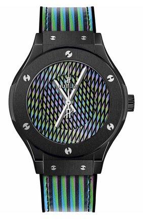 Женские часы cruz diez ceramic HUBLOT бесцветного цвета, арт. 565.CX.8900.VR.CZD19 | Фото 1