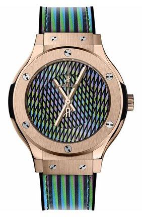Женские часы cruz diez king gold HUBLOT бесцветного цвета, арт. 565.OX.8900.VR.CZD19 | Фото 1