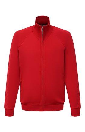 Мужской толстовка BOTTEGA VENETA красного цвета, арт. 647513/V0C10 | Фото 1 (Материал внешний: Вискоза, Синтетический материал; Длина (для топов): Стандартные; Рукава: Длинные; Стили: Спорт-шик; Мужское Кросс-КТ: Толстовка-одежда)
