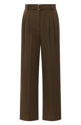 Женские брюки THE FRANKIE SHOP хаки цвета, арт. PA BSP KR 09/CARDAM0M | Фото 1