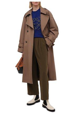 Женские брюки THE FRANKIE SHOP хаки цвета, арт. PA BSP KR 09/CARDAM0M | Фото 2