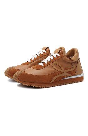 Комбинированные кроссовки Flow Runner | Фото №1