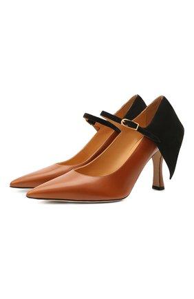 Комбинированные туфли Cape 90 | Фото №1