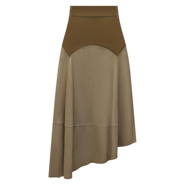 Замшевая юбка Loewe