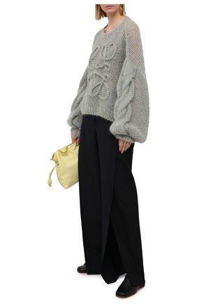 Женский свитер LOEWE светло-зеленого цвета, арт. S817Y14K21   Фото 2