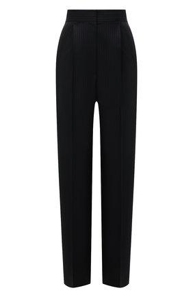 Женские шерстяные брюки LOEWE черного цвета, арт. S540Y04X35 | Фото 1