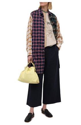 Женская рубашка LOEWE разноцветного цвета, арт. S359337XD5 | Фото 2