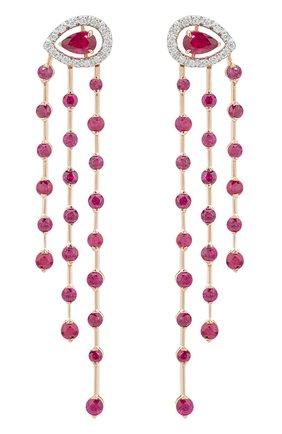 Женские серьги CASATO бесцветного цвета, арт. ORX1165BT/RB-P | Фото 1