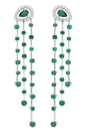 Женские серьги CASATO бесцветного цвета, арт. ORX1165SM/BT-W | Фото 1