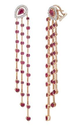 Женские серьги CASATO бесцветного цвета, арт. ORX1166BT/RB-P | Фото 2