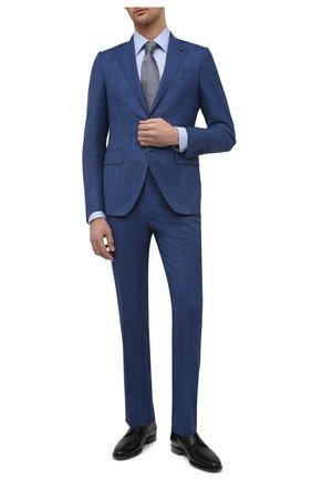 Мужской шерстяной костюм SARTORIA LATORRE синего цвета, арт. A6I7EF Q90144 | Фото 1