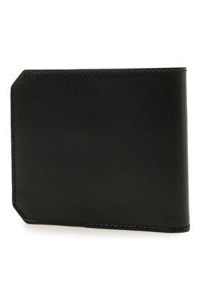 Мужской кожаный футляр для кредитных карт SANTONI черного цвета, арт. UFPPA1393F0-XVVDN01 | Фото 2 (Материал: Кожа)