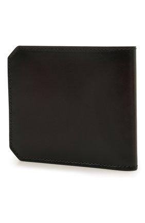 Мужской кожаный футляр для кредитных карт SANTONI темно-коричневого цвета, арт. UFPPA1393F0-XVVDT50 | Фото 2