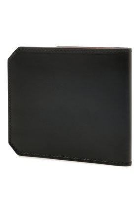 Мужской кожаный футляр для кредитных карт SANTONI темно-синего цвета, арт. UFPPA1393F0-XVVDU59 | Фото 2