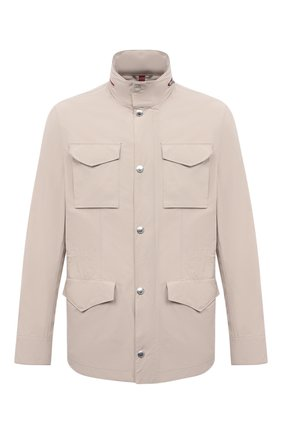 Мужская куртка BRUNELLO CUCINELLI светло-бежевого цвета, арт. MD4796164 | Фото 1