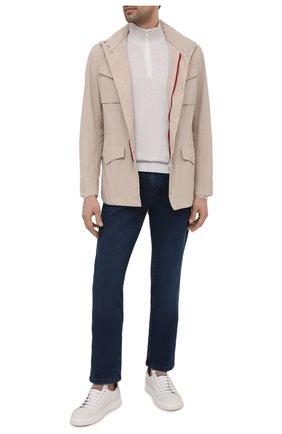 Мужская куртка BRUNELLO CUCINELLI светло-бежевого цвета, арт. MD4796164 | Фото 2