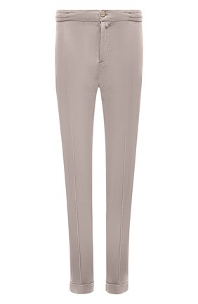 Мужские брюки KITON бежевого цвета, арт. UFPLACJ07T37 | Фото 1
