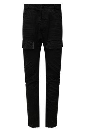 Мужские джинсы MASNADA черного цвета, арт. M2619   Фото 1