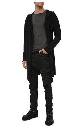 Мужские джинсы MASNADA черного цвета, арт. M2619   Фото 2