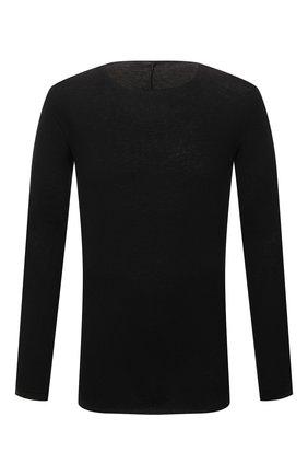 Мужской хлопковый джемпер MASNADA черного цвета, арт. M26N02   Фото 1
