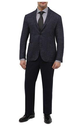 Мужская хлопковая рубашка SONRISA серого цвета, арт. IFJ17/J134/47-51   Фото 2