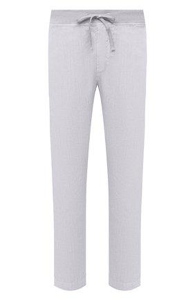 Мужские льняные брюки 120% LINO светло-сиреневого цвета, арт. T0M2131/0253/S00 | Фото 1