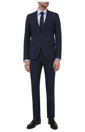 Мужские кожаные дерби W.GIBBS черного цвета, арт. 8378010/2437   Фото 2