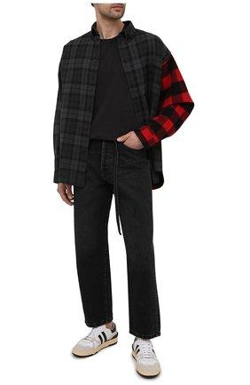 Мужская хлопковая футболка DOLCE & GABBANA темно-серого цвета, арт. 0101/G8FL6T/FU7EQ | Фото 2