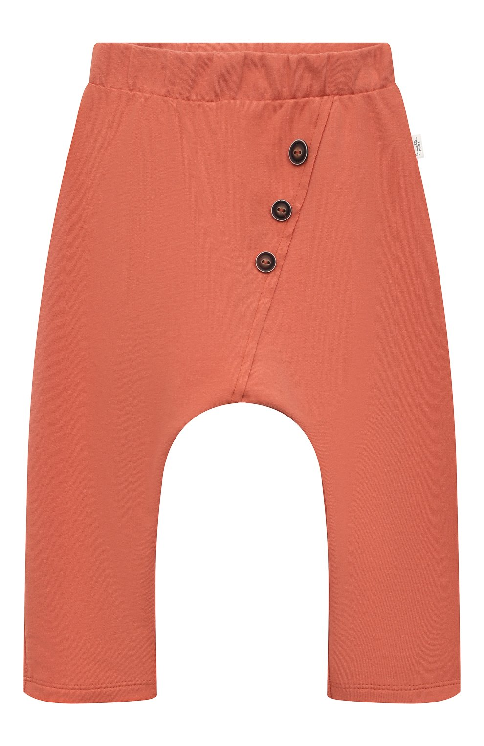 Детские хлопковые брюки SANETTA розового цвета, арт. 10244 | Фото 1