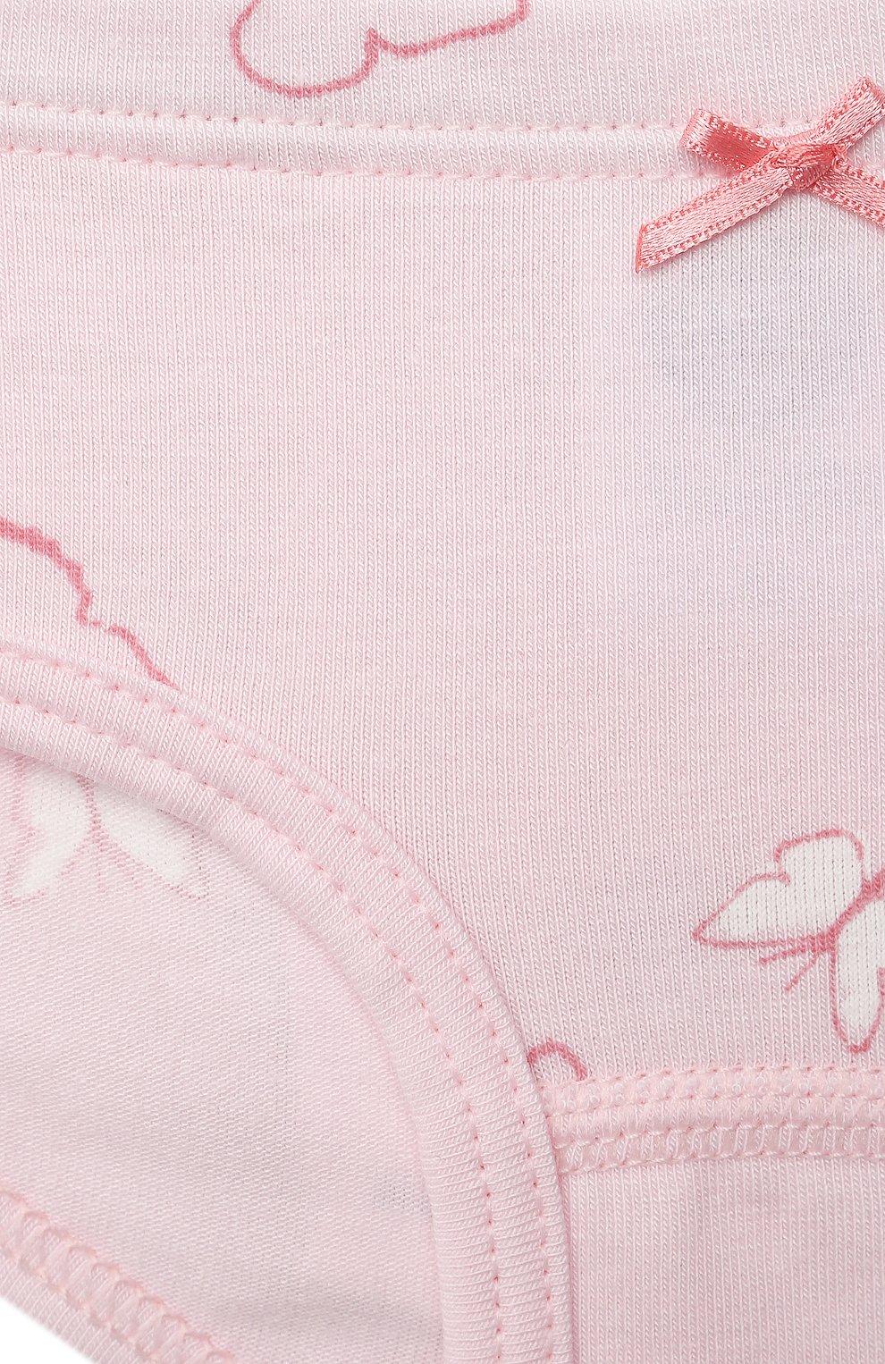 Детские трусы-слипы SANETTA светло-розового цвета, арт. 335199 | Фото 3