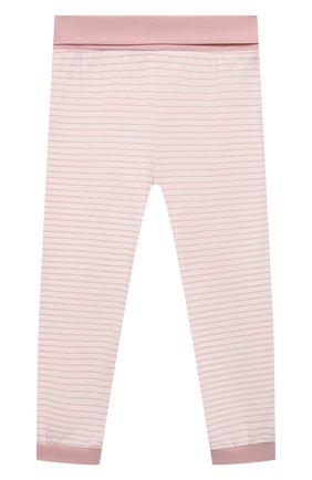 Детская хлопковая пижама SANETTA светло-розового цвета, арт. 221597   Фото 5