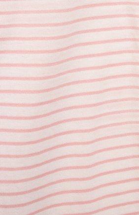 Детская хлопковая пижама SANETTA светло-розового цвета, арт. 221597   Фото 7