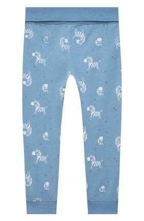 Детский хлопковая пижама SANETTA синего цвета, арт. 221608 | Фото 5
