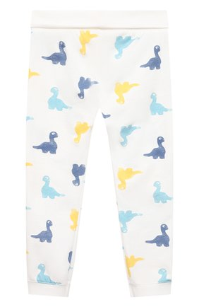 Женская хлопковая пижама SANETTA белого цвета, арт. 221602 | Фото 5