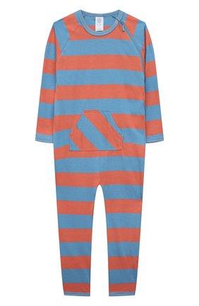 Детский комбинезон SANETTA синего цвета, арт. 221610 | Фото 1