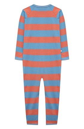 Детский комбинезон SANETTA синего цвета, арт. 221610 | Фото 2